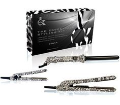 Win a KOR Hair Zebra Essentials Styling Kit - Straighteners and Curler.