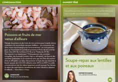 Soupe-repas aux lentilles et aux poireaux - La Presse+ Soup Recipes, Vegetarian, Beef, Dinners, Food, Cream Soups, Eat, Cooking Recipes, Cooking Food