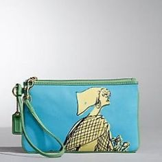 NWT Coach Limited Edition Rare Wristlet!! NWT Coach gorgeous LIMITED EDITION  wristlet!!! Very rare & super cool & cute looking!! Coach Bags