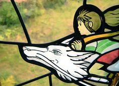 今夜の「金曜ロードSHOW!」は、「千と千尋の神隠し」らしいですよ!うれしいー(^^)/今日は早く帰らないと♪三鷹の森 ジブリ美術館には、「千と千尋の神隠し」のステンドグラスがあります。このシーンもいいですよねぇ…(^^)   http://eng.mg/033da