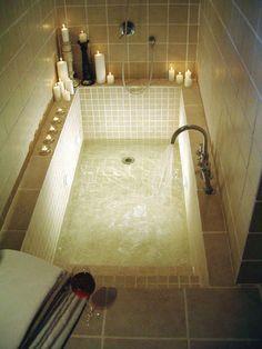 Dorable Master Badezimmer Badewanne Ideen lieben die Idee der Schritte Dorable Master Bathroom Bath Ideas love the idea of steps Luxury Master Bathrooms, Dream Bathrooms, Modern Bathroom, Master Baths, Fancy Bathrooms, Japanese Bathroom, Luxurious Bathrooms, Bathroom Small, Beautiful Bathrooms