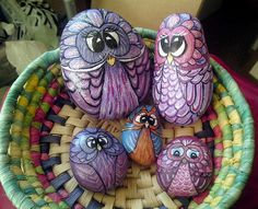 A basket full of owls 1 by pencilartist, via Flickr