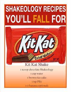 Kit kat Shakeology Get your Shakeology at shakeology.com/malhink!
