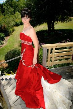 @Elizabeth Loeffler - now you can have your red dress AND it's still bridal. It's pretty fabulous.