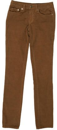 Tory Burch Skinny Corduroy Pants Corduroy Pants, Khaki Pants, Women Pants, Tory Burch, Skinny, Zip, Stylish, Brown, Fashion