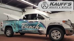 Thank you Beach Environmental for your continuous business! #LoyalCustomers #KauffsWraps #WeHaveTheBestClients