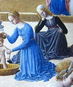 Fra Carnevale, Birth of a Virgin, 1467, Metropolitan Museum of Art, New York.