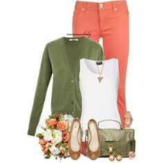 """Rustic Peach"" by autumnsbaby on Polyvore"