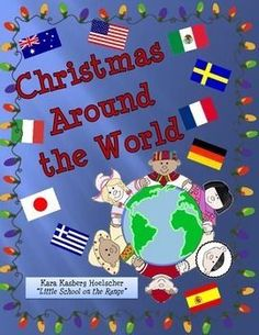 This Christmas Around the World requires no prep work. All of the information needed in contained in this unit. This unit contains the following: Christmas Around the World Fact Cards for the following countries: oUnited States oMexico oAustralia oS