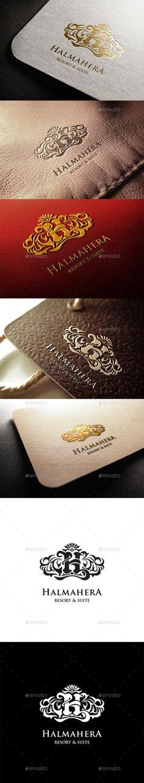 Halmahera Resort Logo — Vector EPS #luxury #reosrt • Download here → https://graphicriver.net/item/halmahera-resort-logo/11299819?ref=pxcr