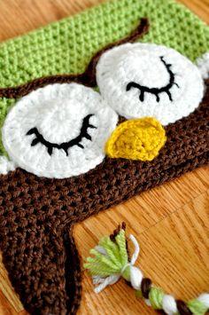 Crochet Owl Hat | Crochet Owl Hat | Crochet Patterns