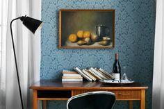 Skrivbord Hotel Malmköping Inredningsstylist Maria Kangärde och fotograf Andy Liffner