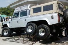 Land Rover 6x6. Yeah ... Seen that one before