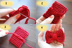 DIY Tutorial for Crochet Hair Accessories {Meet Stefanie - Squeaky Swing} - kathastrophal