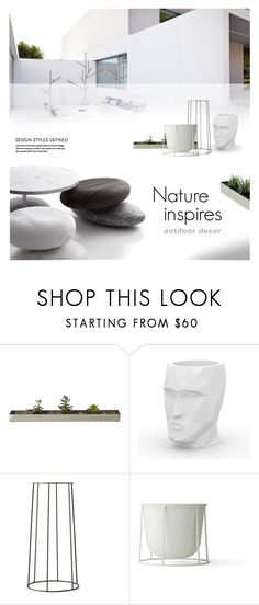 """""""OUTDOOR DECOR 2"""" by laste-co ❤ liked on Polyvore featuring interior, interiors, interior design, home, home decor, interior decorating, Gus* Modern, Vondom and Menu"""