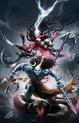 Mahakali and Shiva the ultimate and original power couple defeating the evils Shiva Tandav, Shiva Parvati Images, Rudra Shiva, Krishna, Angry Lord Shiva, Aghori Shiva, Shiva Shankar, Lord Shiva Hd Images, Lord Shiva Family