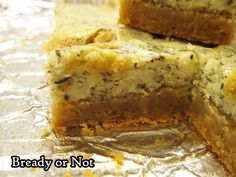 Bready or Not Original: Earl Grey Cheesecake Bars