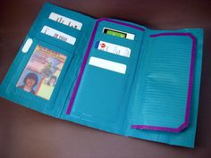 Duct Tape Wallet Instructions Printable | Duct Tape Wallet - Inside by ~Argentum92 on deviantART