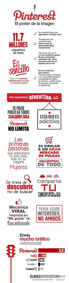 Pinterest, el poder de la imagen « Infografías de Marketing