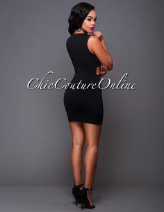 Chic Couture Online - Ellis Black Lattice Front Design Mini Dress.(http://www.chiccoutureonline.com/ellis-black-lattice-front-design-mini-dress/)