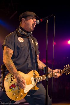 Mike Ness and Deluxe with P90s