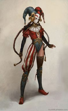 Jester, possible #fantasy character inspiration