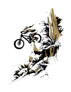 bike drawing art