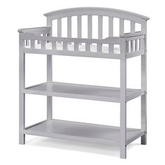 Graco Changing Table in Pebble Gray