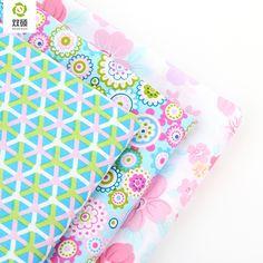 2016 Nuevo Estilo Floral Patchwork Tela de Algodón Fat Quarters Tela de Materia Textil Del Remiendo de Costura de Ropa Para Perros Bolsas de 40x50 cm J-3-17