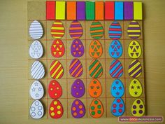 Top 40 Examples for Handmade Paper Events - Everything About Kindergarten Toddler Learning Activities, Easter Activities, Montessori Activities, Kindergarten Activities, Preschool Activities, Kids Learning, Art For Kids, Crafts For Kids, Shape Matching