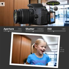 This DSLR camera simulator shows you visually how aperture, shutter speed, and ISO settings work inside the camera to create your image.
