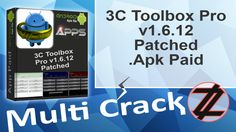 3C Toolbox Pro v1.6.12 Patched .Apk Paid By_ Zuket Creation Direct Download Here !!! http://multicrackk.blogspot.com/2016/02/3c-toolbox-pro-v1612-patched-apk-paid.html