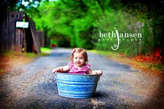 adorable, like the colors, kid in a tub works too :)