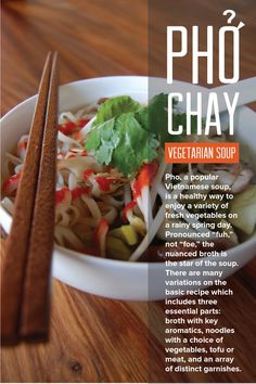 Simple recipe for Pho Chay (vegetarian Pho). Delicious Vietnamese ...