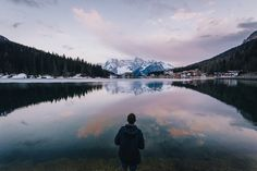 """First light at Misurina - Johannes enjoying the first light at Lago Di Misurina, Dolomites. I am currently in Slovenia - looking forward to sharing many photos from this place with you soon! Stay tuned - in the meantime  <a href=""""http://instagram.com/the_kafka"""">Instagram</a> for more."""