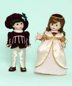 Romeo and Juliet 8 inch Doll Set