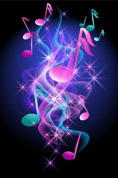 neon note: Glowing background with musical notes, smoke and stars Illustration Meme Background, New Background Images, Beautiful Flowers Wallpapers, Cute Wallpapers, Music Backgrounds, Wallpaper Backgrounds, Blue Butterfly Wallpaper, Star Illustration, Iphone Homescreen Wallpaper