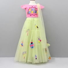Shop online for Indian Ethnic wear for your baby, toddler or child. Choose from a range of modern or traditional, vibrant and colourful outfits. We also customise Indian Ethnic Wear. Girls Frock Design, Kids Frocks Design, Baby Dress Design, Kids Party Wear Dresses, Baby Girl Party Dresses, Cute Girl Dresses, Kids Outfits Girls, Kid Outfits, Kids Lehenga