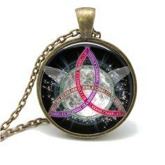 Wiccan Triquetra Pendant