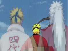 Naruto Shippuden: Fourth Hokage Minato+ Jiraiya + Naruto
