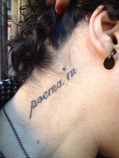 """Poema'm. El tatuatge que va donar peu al book tràiler del meu poemar """"batec""""."""