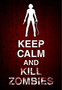 Keep calm!!! ... how is killing something being calm??!!