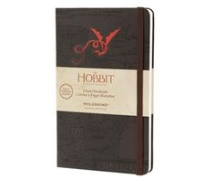 The Hobbit -Limited Edition Notebook - Large - Plain - Brown - Moleskine