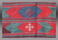 Vintage/Antique BALUCH KILIM Southeast Persai by tcEclecticImages