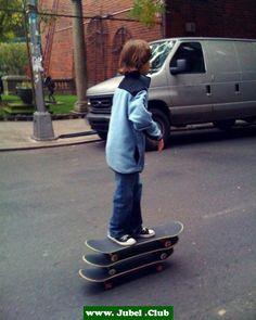 Triple Skateboarding in New York! (USA)