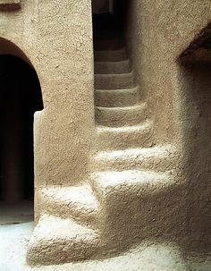 Africa | Kargue, Mali - Mud architecture | by Dogon-lobi photography. African architecture