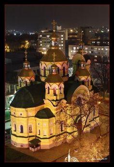 rivne, ukraine. church.