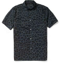 Marc by Marc Jacobs Printed Short-Sleeved Cotton Shirt | MR PORTER