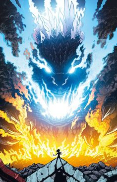 Godzilla Rulers of Earth issue 13 - cover by Kaiju Samurai Godzilla Wallpaper, King Kong, Tableau Star Wars, Aliens, Godzilla Comics, Cultura Pop, Creature Design, Marvel, Fantasy World