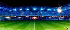 Die wunderschöne Red Bull Arena bei Nacht! Fc Red Bull Salzburg, Night, Nice Asses